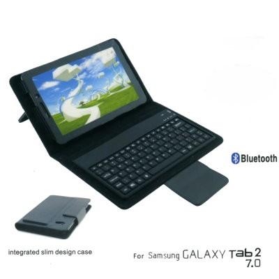 Tasche mit Bluetooth Tastatur f. Samsung Galaxy Tab 7.0 Plus N 3G P6201