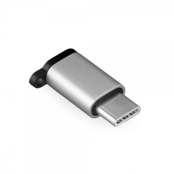 Adapter Micro-USB  Buchse USB Type C (USB-C) f. ZTE Axon 7 Mini