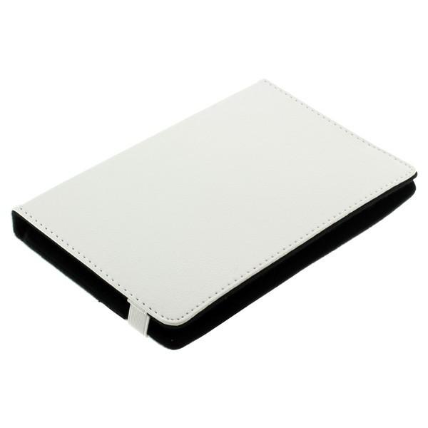 Bookstyle Tasche Tabletcase weiss für Hanvon HPad A116