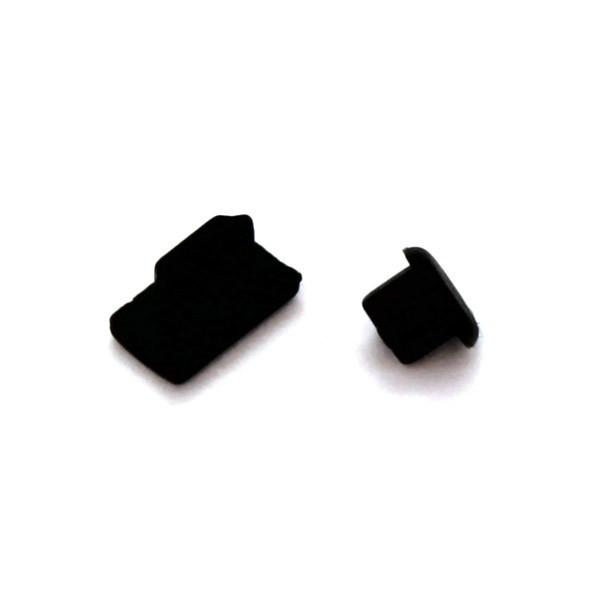 Staubkappe Schutz black f. Sony Xperia M2
