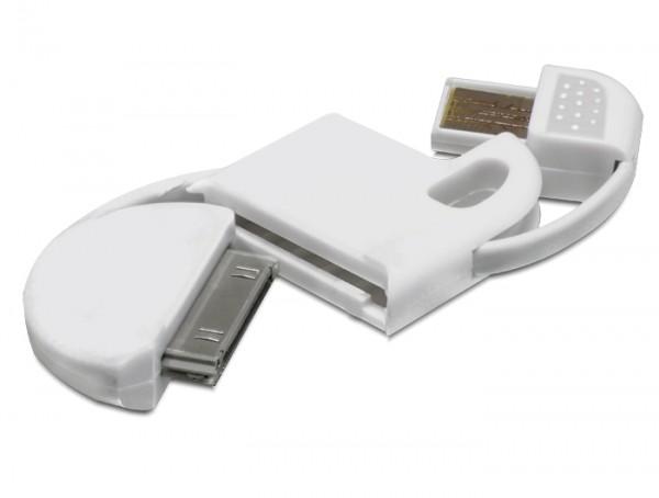 USB Datenkabel Mini weiss Schl