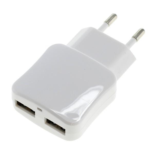 Doppel USB Netzteil white f. Google Nexus 10