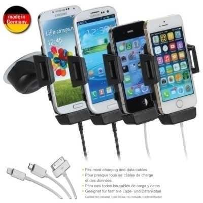 iGrip T5-1800 Smartphone Charging Dock Dit - mit/ ohne Bumper Case - Breite 44 - 84 mm